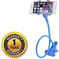 Raptas Universal Flexible 360⁰ Snake Style Stand for Apple iPhone/Samsung/Android Mobiles Long Lazy Car Mobile Holder Mobile Holder. (One Year Warranty)