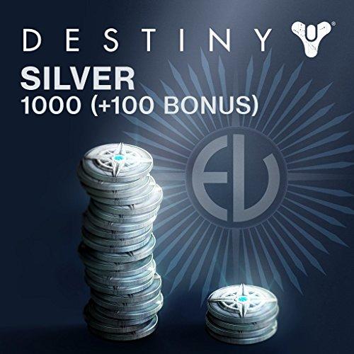 Destiny: 1000 (+100 Bonus) Destiny Silver - PS4 [Digital Code]