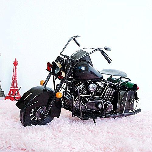Metall Handwerk Collectibles Vintage GroßE Alte Motorrad Modell Geschenke , 3515.523