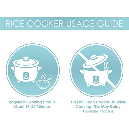 Aroma Simply Stainless 3-Cup(Uncooked) to 6-Cup (Cooked) Rice Cooker, White by Aroma Housewares (Image #1)