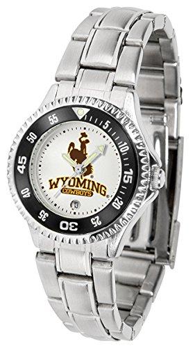 Watch Wyoming Ladies Cowboys - Linkswalker Ladies Wyoming Cowboys Competitor Ladies Steel Watch