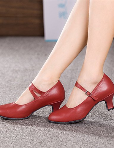 Leather Modern Shoes Black Dance Non Women's Colors Customizable Cuban Heel ShangYi More AOqwgBW