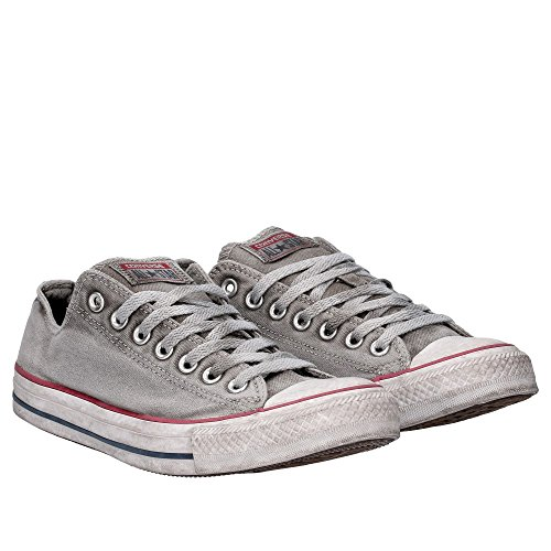 Ox SS Ctas Grigio 156892C Canvas Grey Sneakers Uomo 18 Edition Limited Ltd Converse XawgZqx