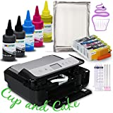 INKUTEN A4 Edible Ink Wireless Printer System (inc refill. cartridges, edible ink and Frosting sheets)