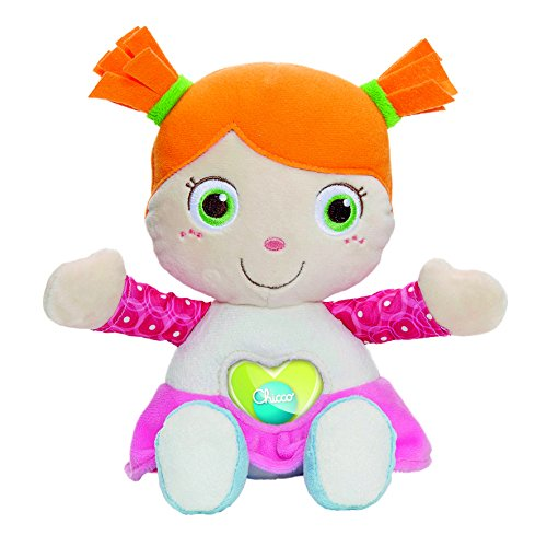 Chicco 00007942000000Cuddly Doll First Love, Multi-Colour