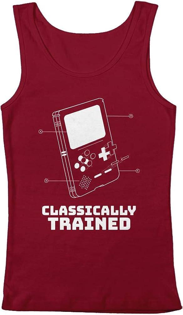 GEEK TEEZ Classically Trained Retro Blueprint Women's Tank Top