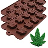 Best Silicone Mold For Candy Chocolates - Marijuana Pot Leaf Silicone Candy Mold Trays Review