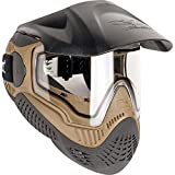 Valken Paintball MI-9 SC Goggle/Mask with Dual Pane Thermal Lens - Tan