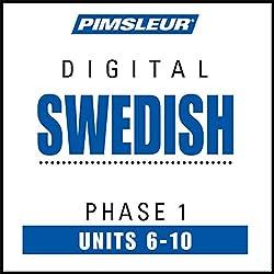 Swedish Phase 1, Unit 06-10