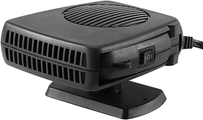 Riscaldatore per Auto Defogger per Parabrezza Sbrinatore 12 Volt 200 W Ventilatore per Riscaldamento Automatico Demister per Riscaldamento Rapido Defogger per Auto