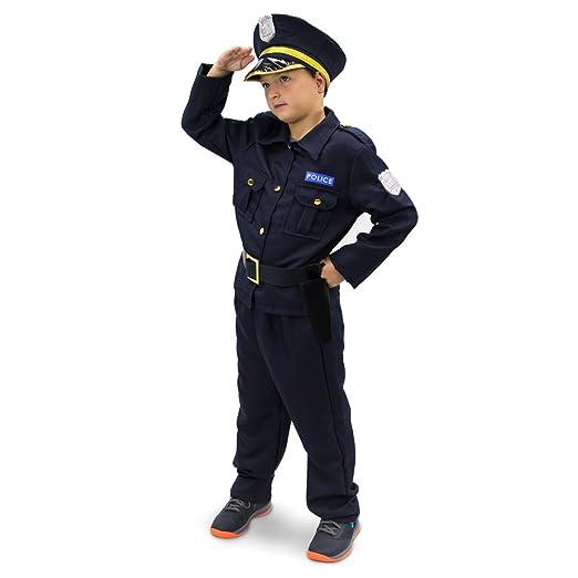 Amazon.com: Plucky Disfraz infantil de agente de ...