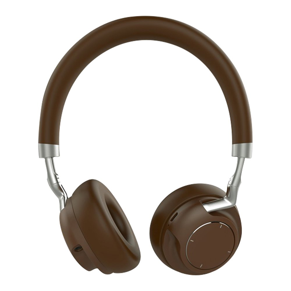 Over Ear Headphones, Bluetooth Wireless Headset 4.2, HiFi Stereo Deep Bass Noise Cancelling on The Ear Headphone Foldable & Lightweight Design. Wired Wireless & Mode for iPhone, iPad, TV Table
