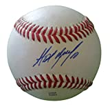 Chicago White Sox Alexei Ramirez Autographed Hand Signed Baseball with Proof Photo and COA, San Diego Padres, Tampa Bay Rays