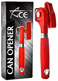 ACE Safety Can Opener – Pamper Your Homemaker With The Smooth Edge Manual Tin Can Opener….
