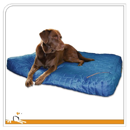 Kurgo Loft(TM) Dog Bed Duvet Cover, Large, Blue -
