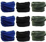9PCS Outdoor Headscarves, Womens and Mens Headband Headwear