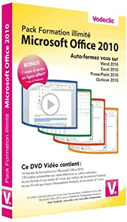 Pack Formation Illimité Microsoft Office 2010 Francia DVD: Amazon.es: Cine y Series TV