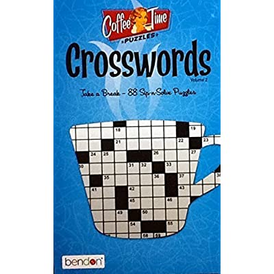 Bendon Coffee Time Crossword Puzzles Vol. 2 ~ Puzzle Book Volume 2: Toys & Games [5Bkhe0203441]
