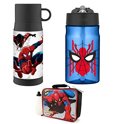 Thermos 12oz Warm Beverage Bottle, and Hydration Bottle Lunc