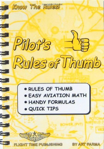 Pilot's rules of thumb: Rules of thumb, easy aviation for sale  Delivered anywhere in USA