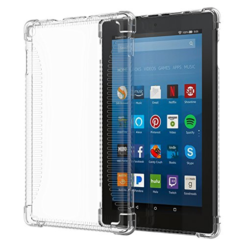 MoKo-Case-for-All-New-Amazon-Fire-HD-8-Tablet-7th-Generation-2017-Release-Only---Clear-Shockproof-Flexible-Transparent-TPU-Skin-Bumper-Back-Cover-Protector-for-Fire-HD-8-CLEAR