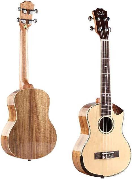 NUYI 26 Pulgadas Ukelele 4 Cuerdas Guitarra Pequeña Estudiante ...