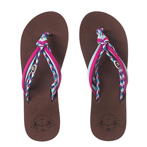 Animal Womens/Ladies Summer Flip-Flops Multi 4JRdzQGMn