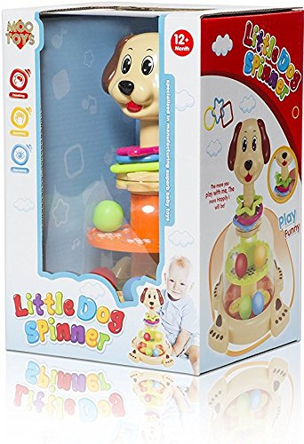 MooToys 'Doggy spinner' Push and spin Dog, Help Develops your baby's Fine motor skills (MT-104) by MooToys (Image #3)