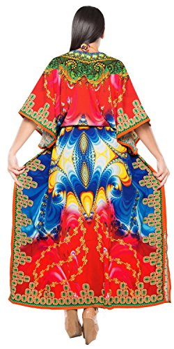 Kimono-Caftan-Beach-Bikini-Cover-up-Jewel-Neck-Plus-Size-Designer-Caftan-Dress