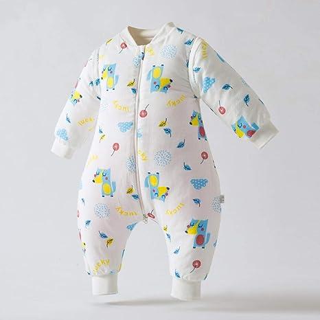 Saco de dormir para bebé unisex 0-6 meses Piernas Otoño e invierno ...