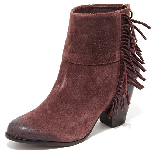 87371 Stivaletto Ash Scarpa Prugna Quick Stivale Shoes Donna Softy Women Boots rranAqwg