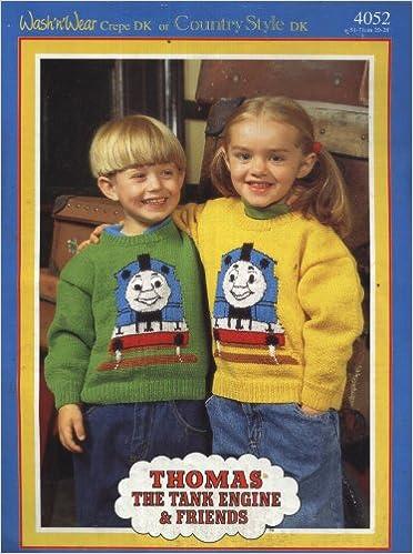 Sirdar Thomas The Tank Engine Friends Childrens Motif Sweater