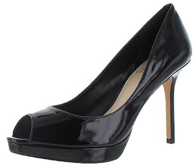 eaea7648d6 Amazon.com | Vince Camuto Women's Coper Dress Pump Black Patent, 10 | Pumps