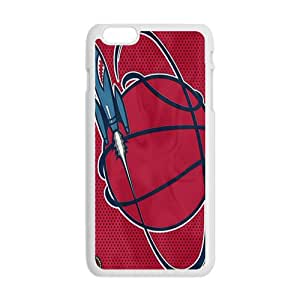 Houston Rockets NBA White Phone Case for iPhone plus 6 Case
