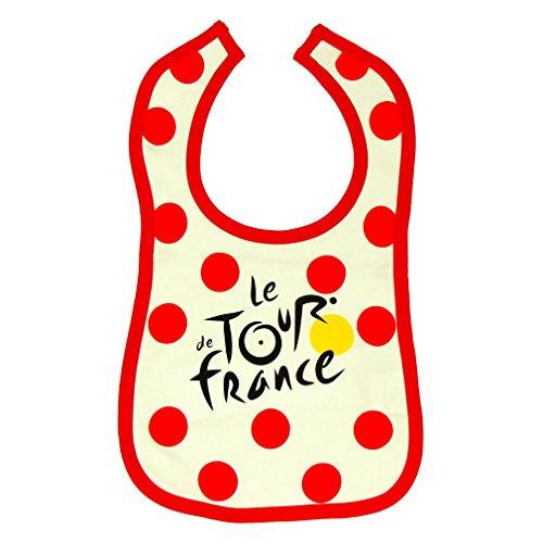 Le Tour de France - Official Tour de France Baby Bib - Polka dots (Tour De France Polka Dot Jersey For Sale)