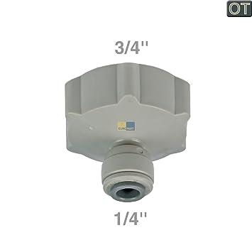 lg electronics 4932ja3018a original wasseranschluss anschlussstück