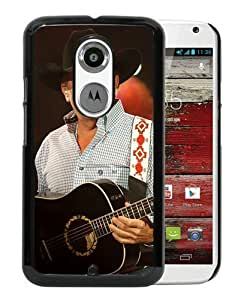 Popular Motorola Moto X 2nd Generation Case ,Beautiful And Unique Designed With George Strait 4 Black Motorola Moto X 2nd Generation Cover