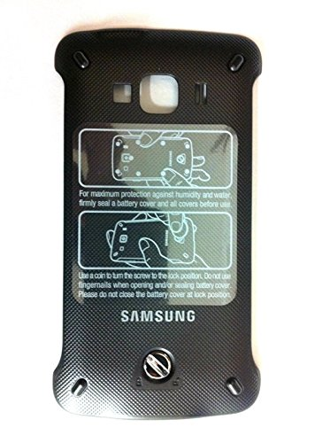 Samsung Rugby Smart (i847) OEM Replacement Battery Door Back Cover - Dark Gray (Certified Refurbished)