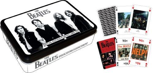 Beatles Black & White Playing Card ()