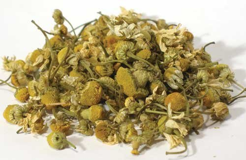 Chamomile Flowers, Whole, Dried Herb, 1 Oz 100% Natural No Additives by AzureGreen
