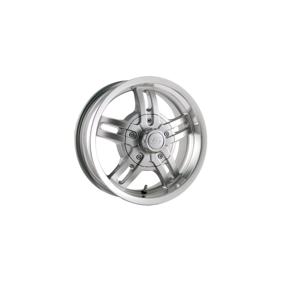 Ion Alloy 12 Silver Wheel with Machined Lip (14x6/5x114.3mm)