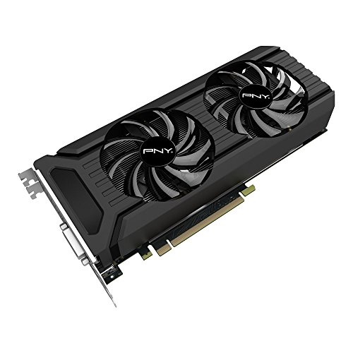 PNY NVIDIA GeForce GTX 1060 6GB XLR8 Gaming Overclocked Graphics Card...