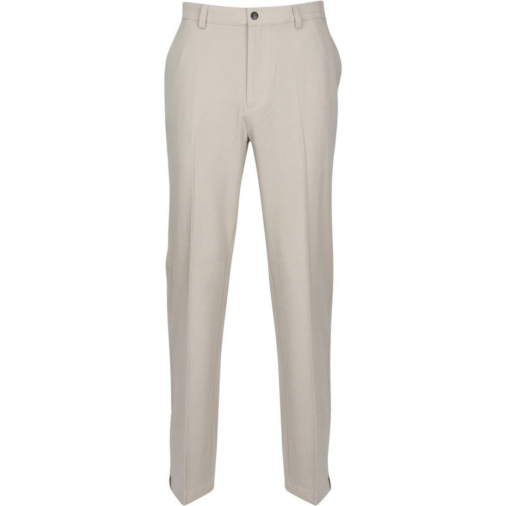 Greg Norman Men's Classic Pro-fit Pant, Sandstone Heather, W: 35'' x L: 30'' by Greg Norman
