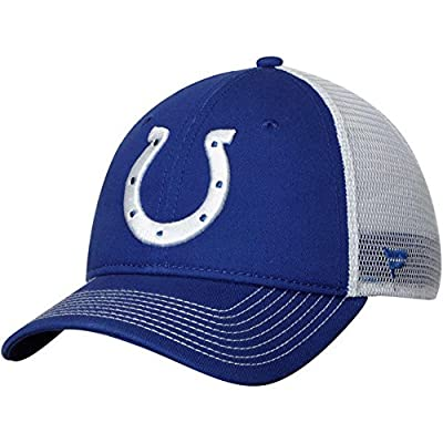 Fanatics Branded Indianapolis Colts Core Trucker II Adjustable Snapback Hat - Royal/White