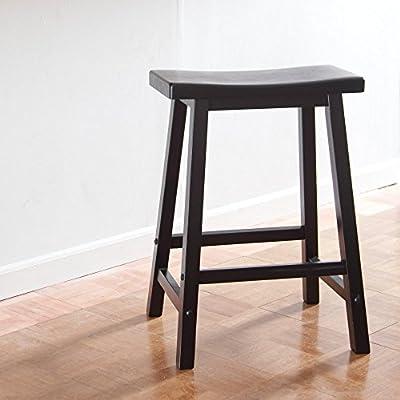 Winsome Wood Saddle Seat Stool