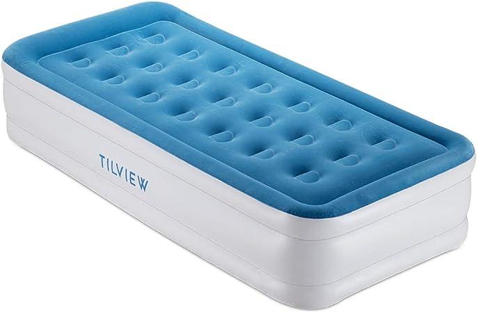 Amazon.com: TILVIEW - Colchón de aire de doble tamaño para ...