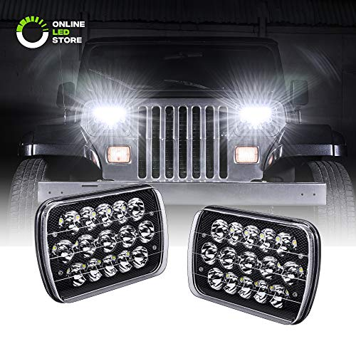 xj jeep headlight conversion - 7