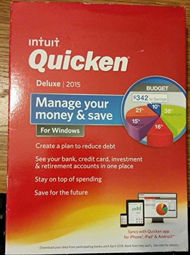 Quicken Deluxe Manage Money Windows