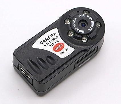Amazon com : Mini Q7 WIFI P2P Surveillance Spy Remote Camera DVR