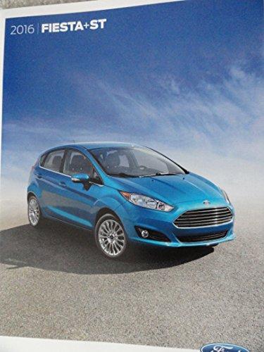 30-page Sales Brochure 2016 Ford Fiesta